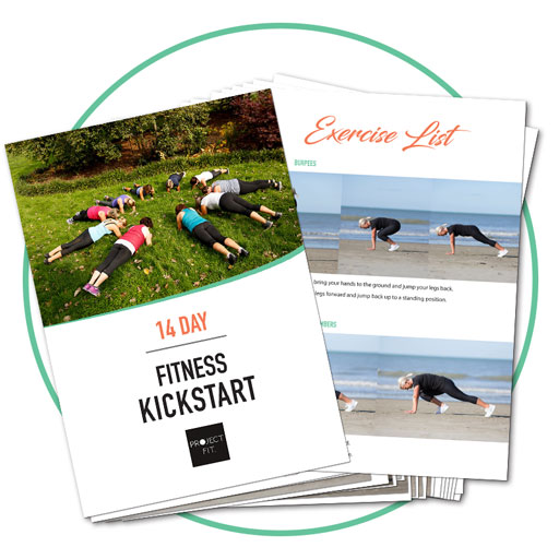 Ebook for your 14 Day Fitness Kickstart!