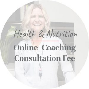 Online Health and Nutrition Coaching consultation fee with Rosie James